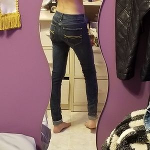 00s 24 super skinny Abercrombie and Fitch jeans